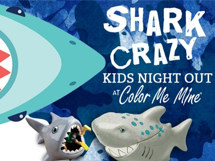 Shark Crazy Kids Night Out - July 12th, 2019