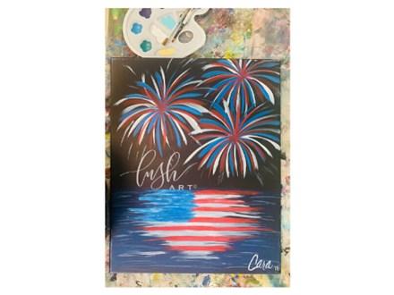Fireworks Virtual Paint Class