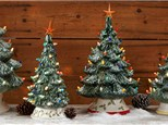 Pre-Sale on Vintage Christmas Trees & Painting Party