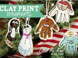 Kids Night Out - Clay Ornaprints! - Nov 25th