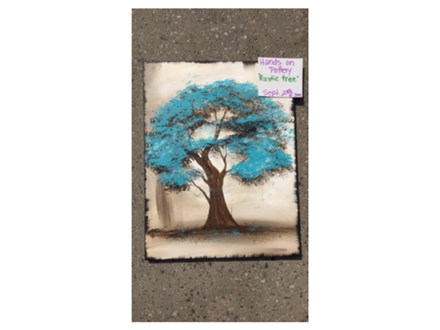 You Had Me at Merlot - Rustic tree - September 2nd