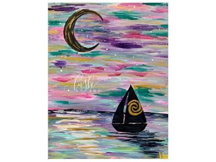 Colorful Sailboat Paint Class