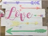 Family Board Art - LOVE - 02.04.17 - Morning Session