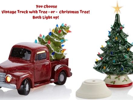 Vintage Truck w Tree OR Christmas Tree Painting at Monroeville Winery - December 19th