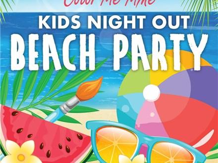 Beach Week Kids Night Out!