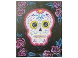 Paint N' Sip: Day of the Dead Skull