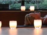 earth hour yoga at glassybaby madrona