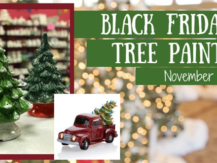 Black Friday - Tree Painting Event