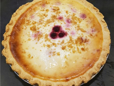 Raspberry Sour Cream