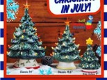 Christmas in July at Just Claying Around