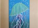 $30 Jellyfish Paint Night w/Toni 7/24 6-9PM