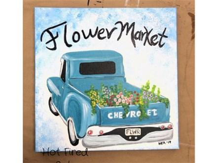 Flower Truck Painting