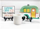 Cute Camper Summer Camp