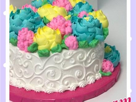 Adult Buttercream Florals Cake Class