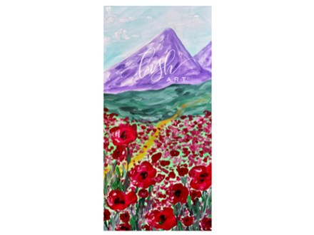 Poppies Paint Class - PERRY