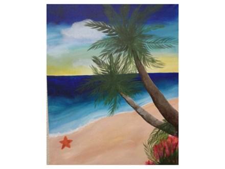Island Paradise - Paint & Sip - May 13