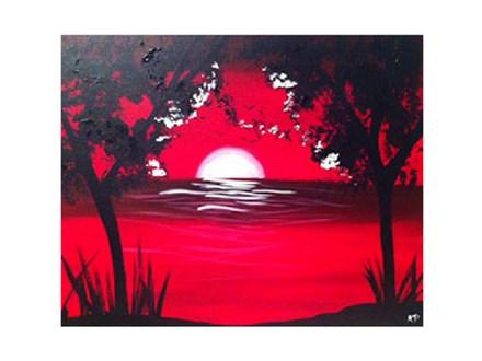 Paint & Sip - Red Horizon - Jan. 19 - 7:30 PM