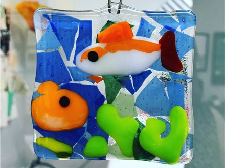 Introduction to Fused Glass Class 8/15 4pm