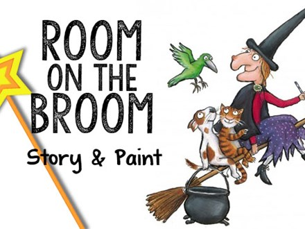 Room on the Broom Paint Me A Story - October 21