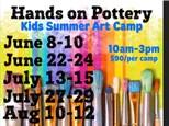 Kids Summer Art Camp - Aug 10-12, 2021