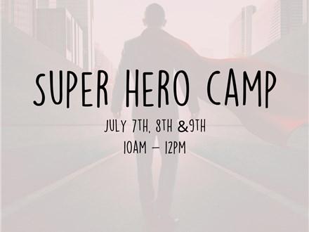 Super Hero Art Camp