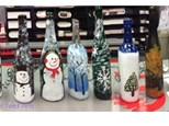 FCPS Wine Bottles w Fairy Lights: December