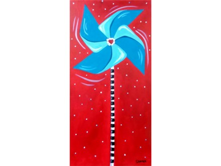 Pinwheels for Prevention of Child Abuse - April is Child Abuse Prevention Month
