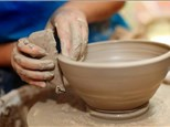 """""""Beginner Pottery Wheel Class"""" Ages 10 & up 8/1/20"""