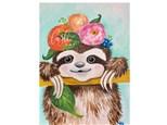 Sloth Paint Class