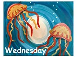 Wednesday, July 25th- Jellyfish Canvas- 12pm to 4pm