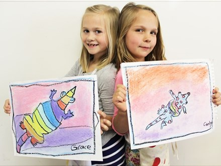 Mix-Media Summer Classes (Ages 7-10)
