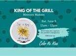 King Of the Grill Handprint Workshop - June 5