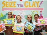 Children's Birthday Parties at Seize The Clay