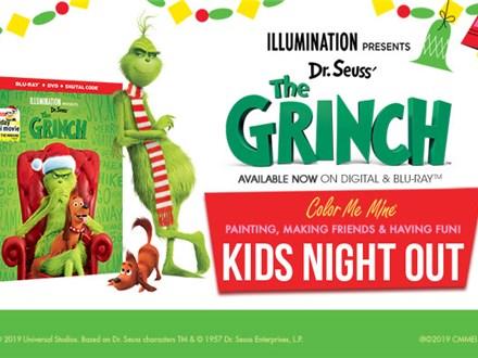 Dec 23rd • Kids Night Out • Color Me Mine Aurora