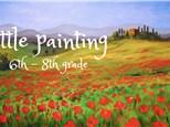 Little Painting Camp - 6th thru 8th grade