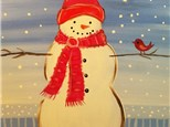 Paint Your Own Canvas Pack - Snow Pals