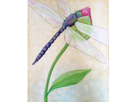 Dragonfly Flower - Thurs. April 6 at 6:30pm