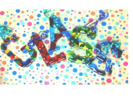 Kids Fused Glass Letter Party Package