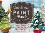 Paint Trees Event -Sun Nov 3rd