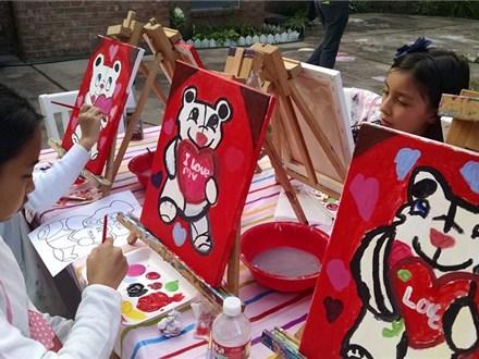 Package E Mini Mobile Paint Party