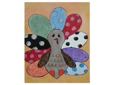 Tommy the Turkey - Paint & Sip - Nov 18