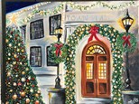 "Canvas Night ""Town Hall"" Saturday, December 17th 7-10pm"