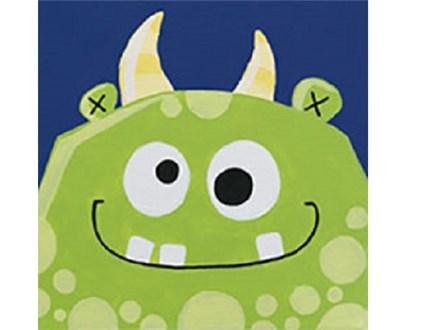 Summer Kids' Canvas Class! Monster Madness! 6/20/18