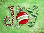 Adult Canvas Night Dec 17th Christmas Joy