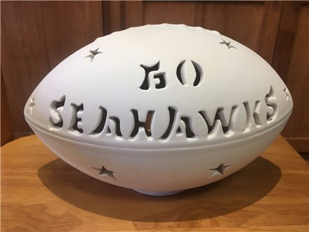 Personalized Football! (please select today's date on calendar shown)