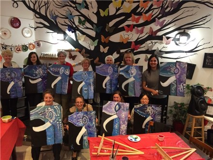 (Adult)canvas painting party/class