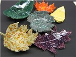 Clay Leaf Plate or Bowl! Sept, 19th