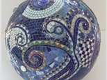 Mosaic Gazing Balls, Great for the Garden