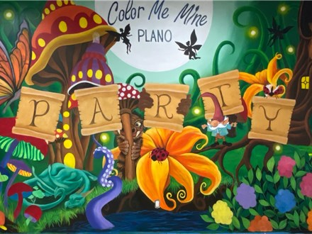 Party at Color Me Mine - Plano