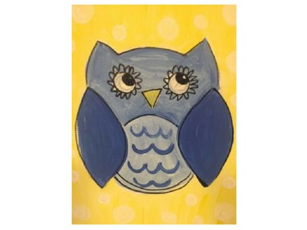 Canvas Party - Owl Always Love You!